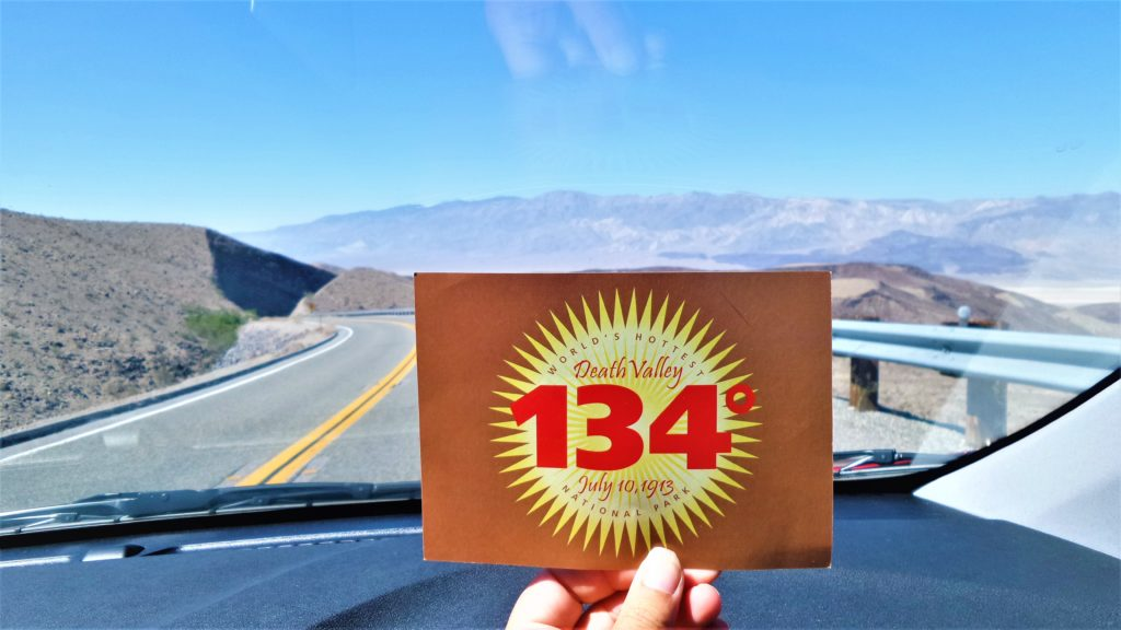 World's hottest national park, death valley, usa