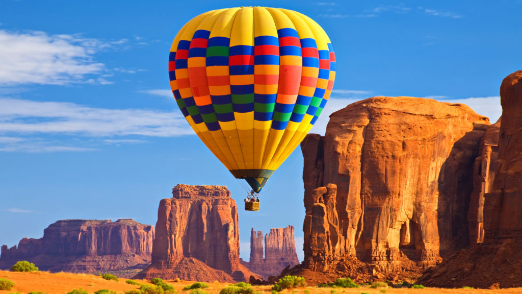 Las vegas balloon ride