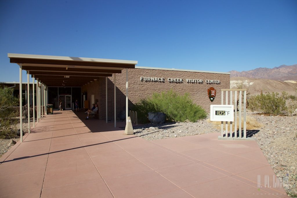 death valley visitor center, furnace creek