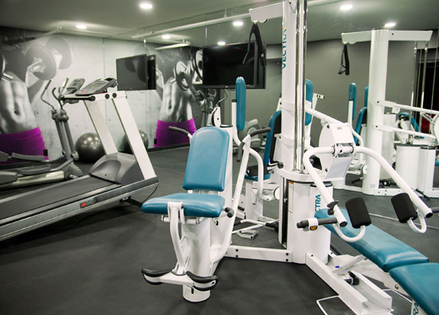 Gym fitness center artisan hotel las vegas