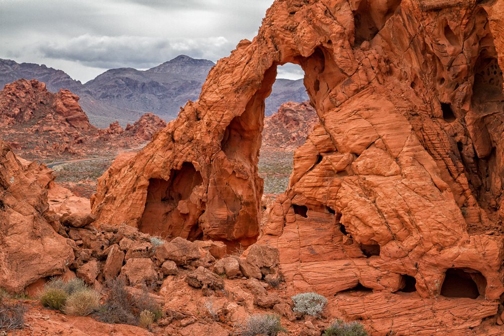 The Arch, Valley of Fire, Nevada