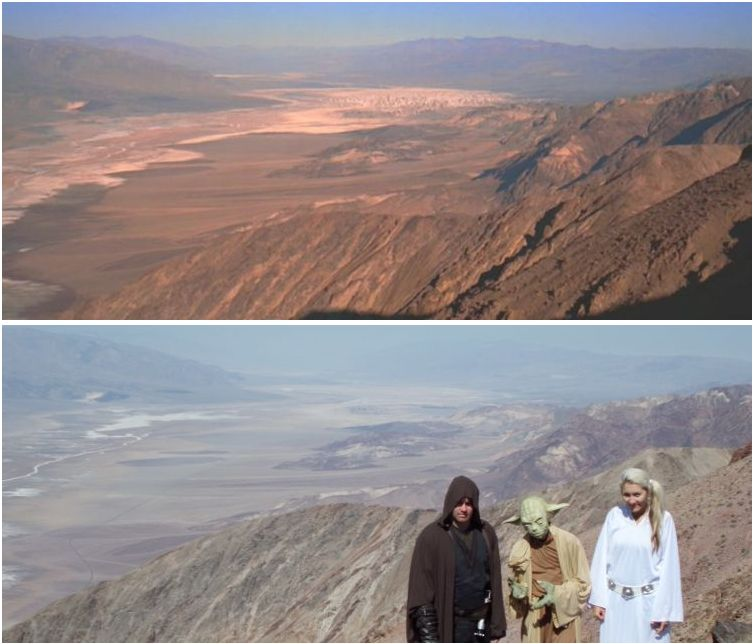 Star Wars filming locations Death Valley