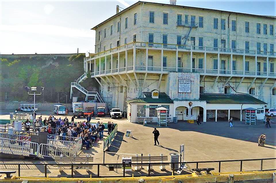 Alcatraz Ferry landing, san Francisco, California