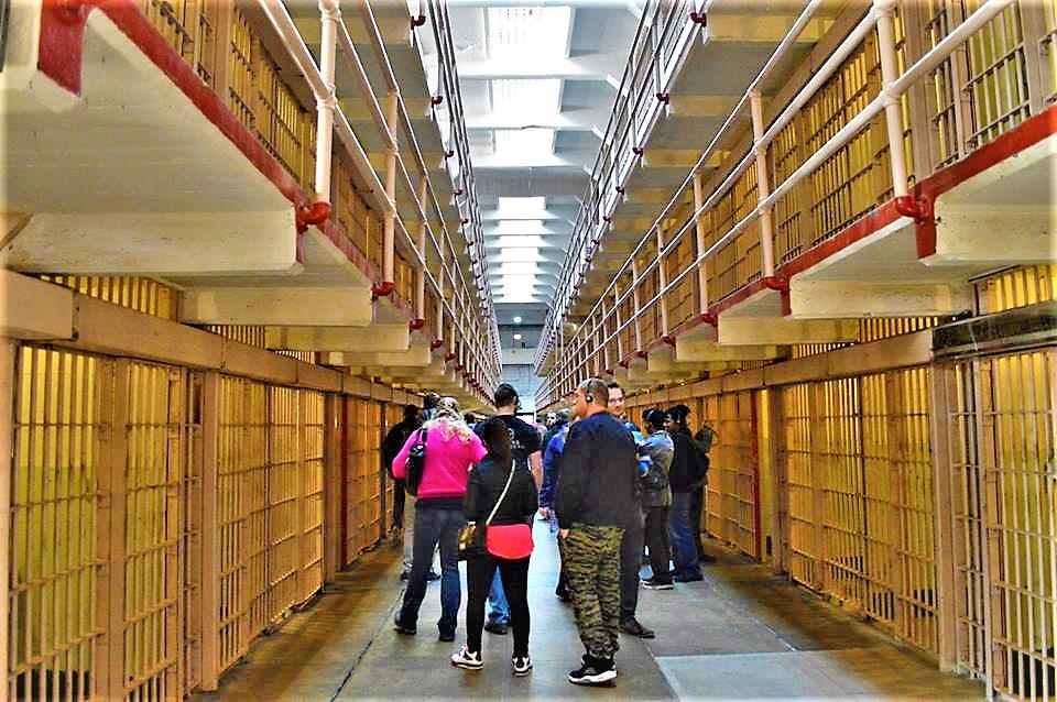 Audio Tour, san Francisco, Alcatraz prison, California