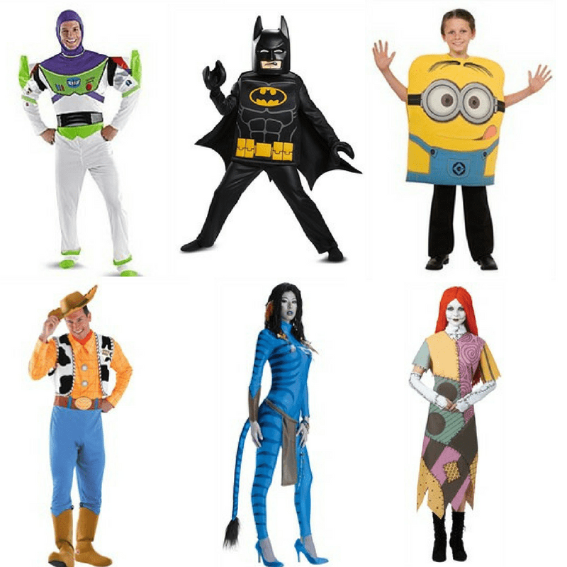 Best costume ideas for Halloween film characters
