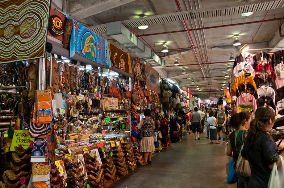 Best places to visit in Sydney - The Rock's market, Sydney, Australia