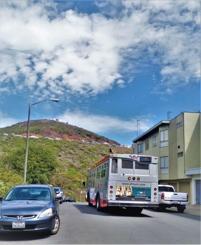Bus to Twin Peaks, San Francisco, California