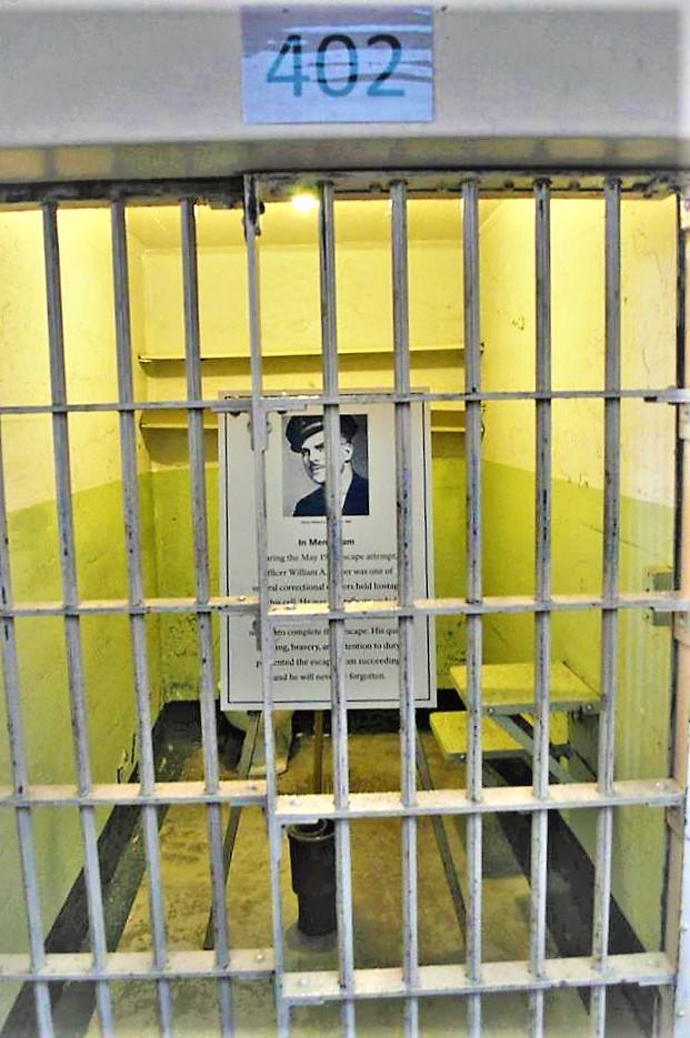 Cell 402, Alcatraz, San Francisco, California