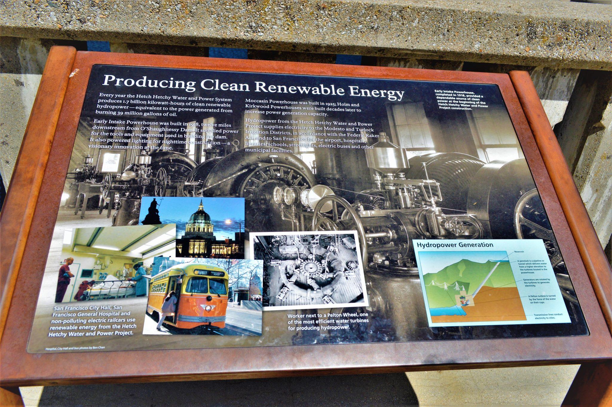 Clean renewable energy, Hetch Hetchy, California