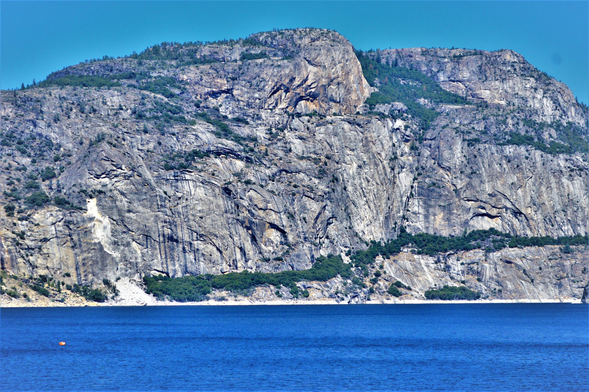 Cliffs at Hetch Hetchy Reservoir, California
