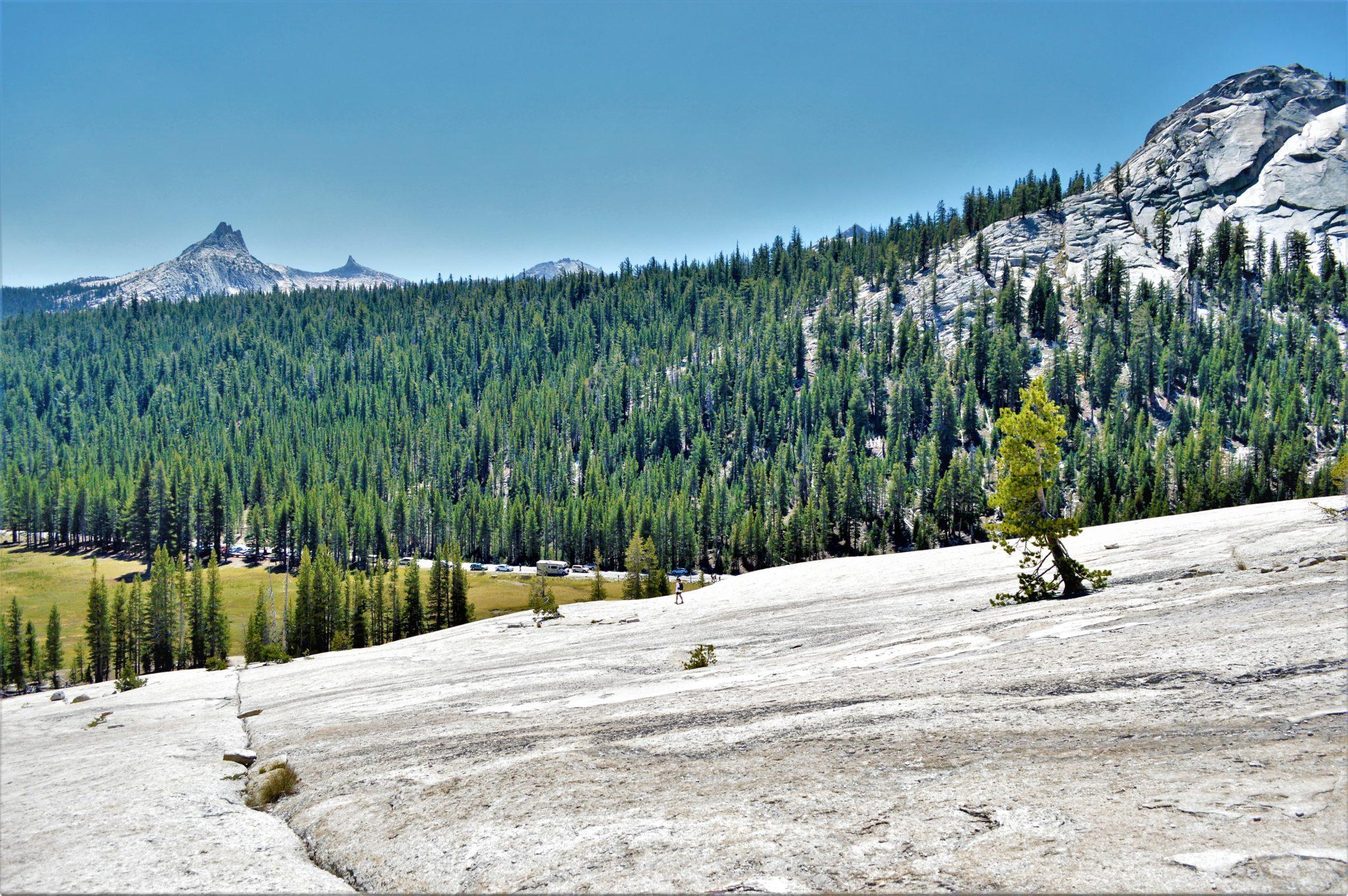Climbing at Yosemite National Park, California