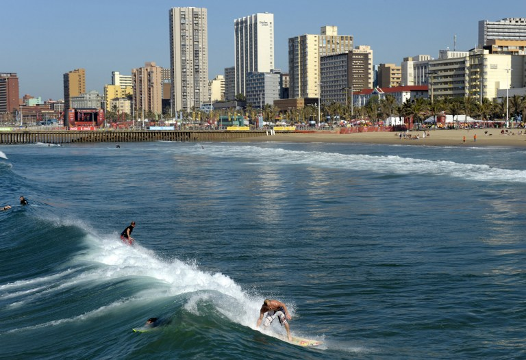 Durban beach, South Africa, best beaches in the world