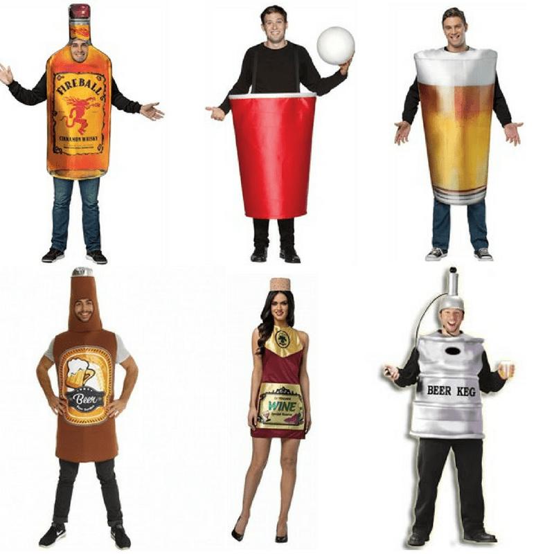 Fancy Dress Halloween ideas, drink costumes