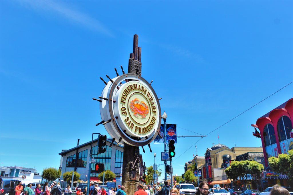Fishermen's Wharf sign, San Francisco, USA