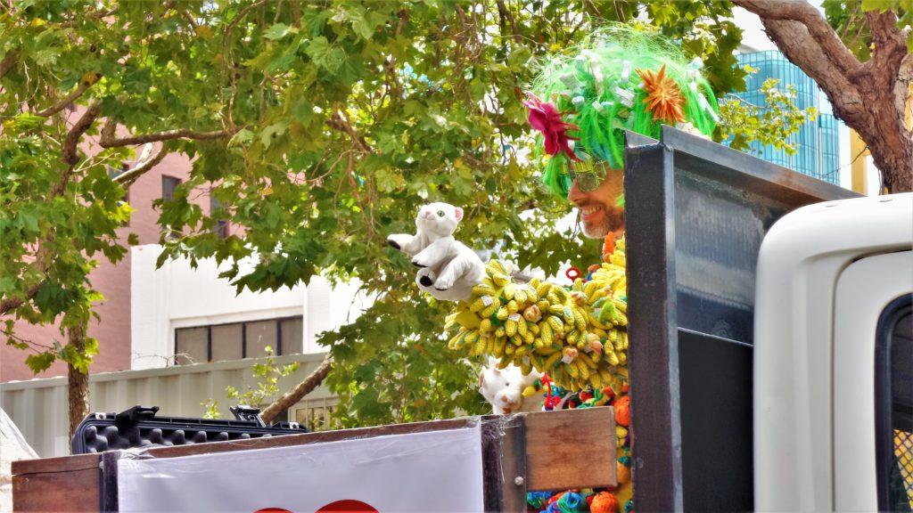 Float in the San Francisco gay pride parade