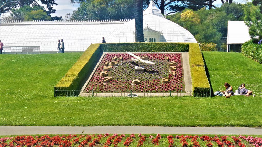 Flower clock, Golden gate park, San Francisco, USA