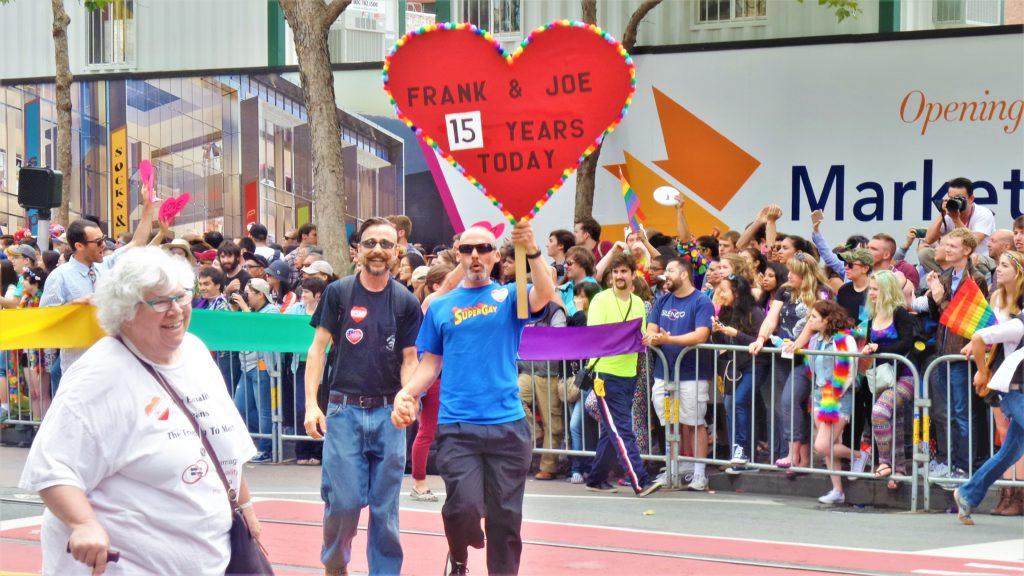 Gay pride parade, san francisco, US
