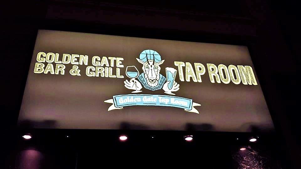 Golden Gate Tap Room sign, San Francisco