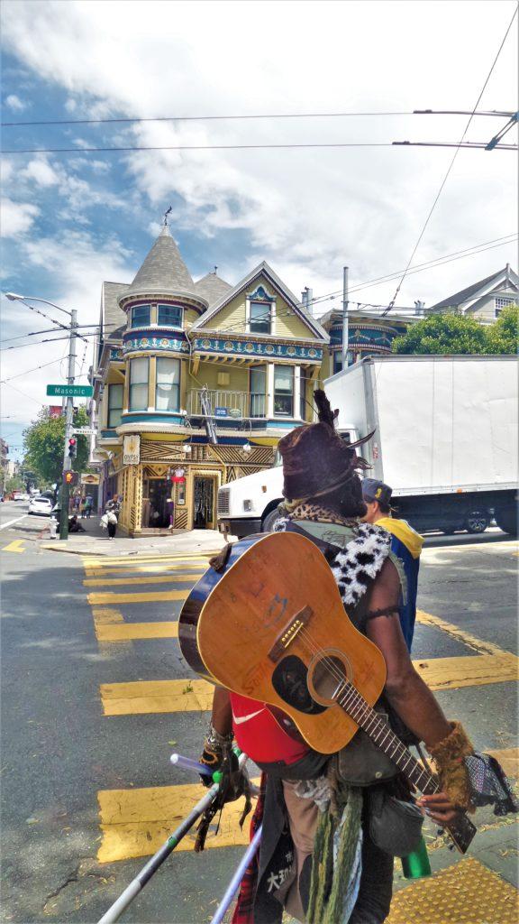 Guitarist Haight Ashbury, San Francisco
