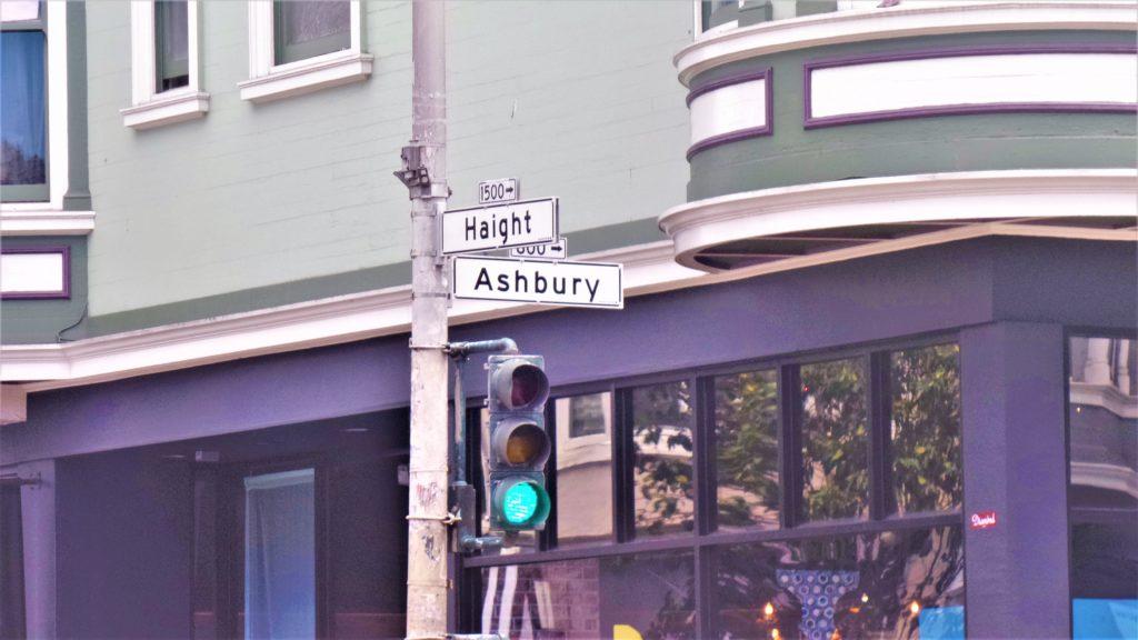 Haight Ashbury sign, San Francisco, USA