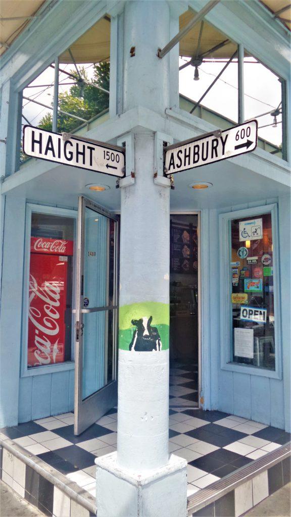 Haight Ashbury signin shop, San Francisco, California