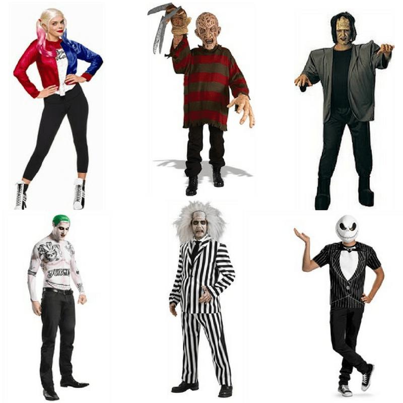 Halloween Fancy Dress Ideas Film characters