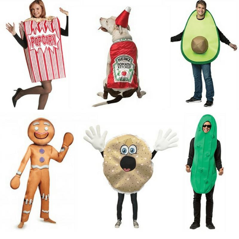 Halloween fancy dress ideas food costumes