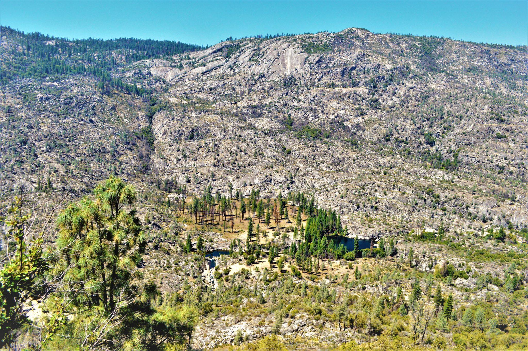Hetch Hetchy mountains, California, Yosemite