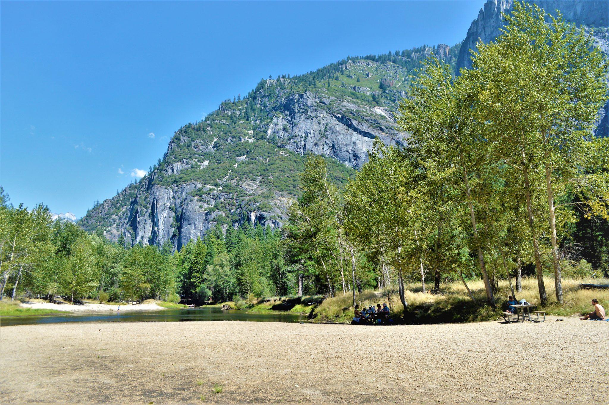 Lake at Yosemite National Park, California