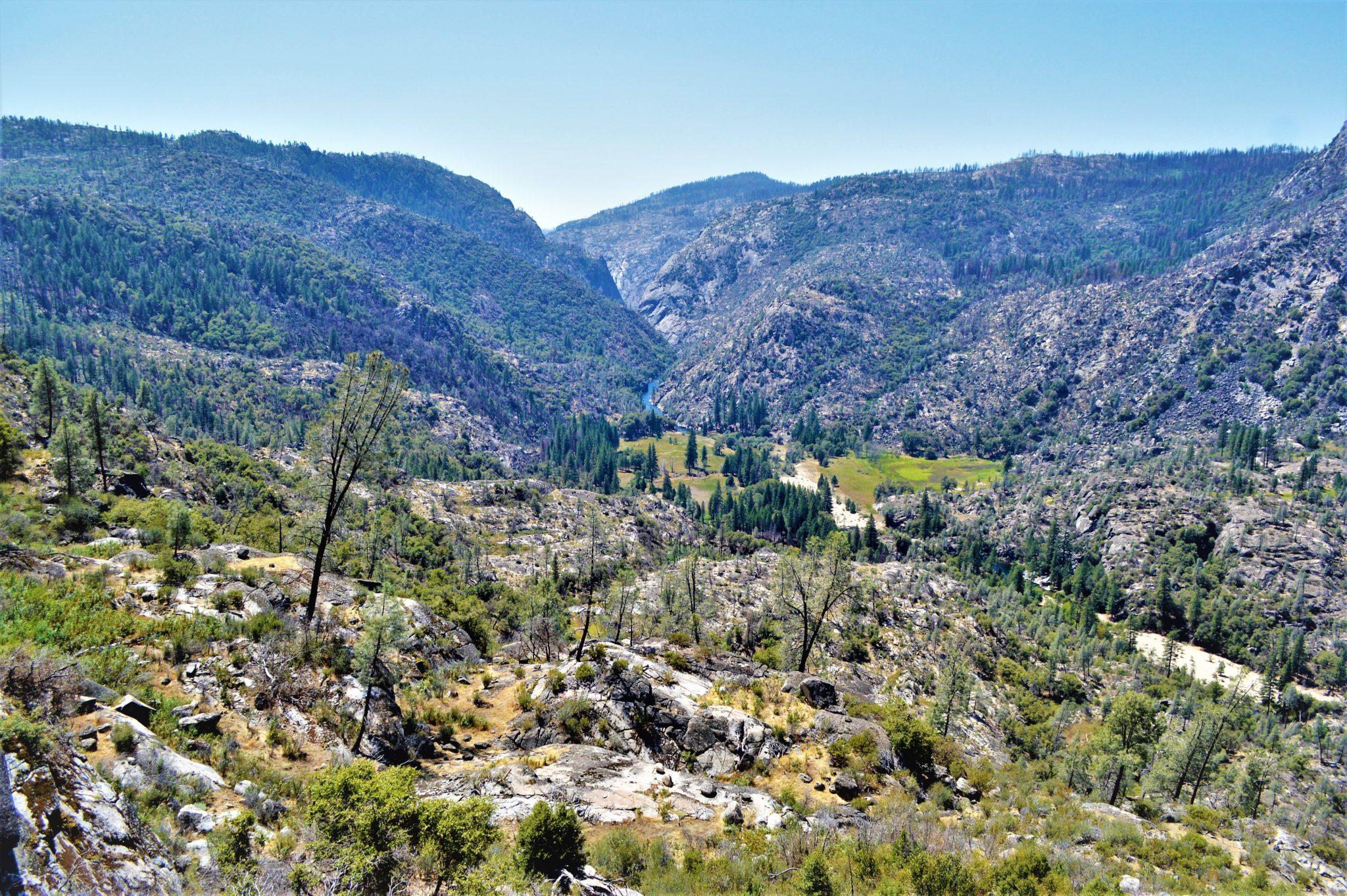 Landscape at Hetch Hetchy, Yosemite, California