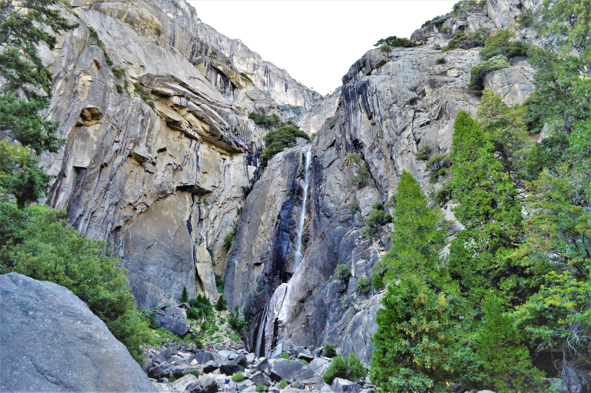 Lower Yosemite Falls, California, USA