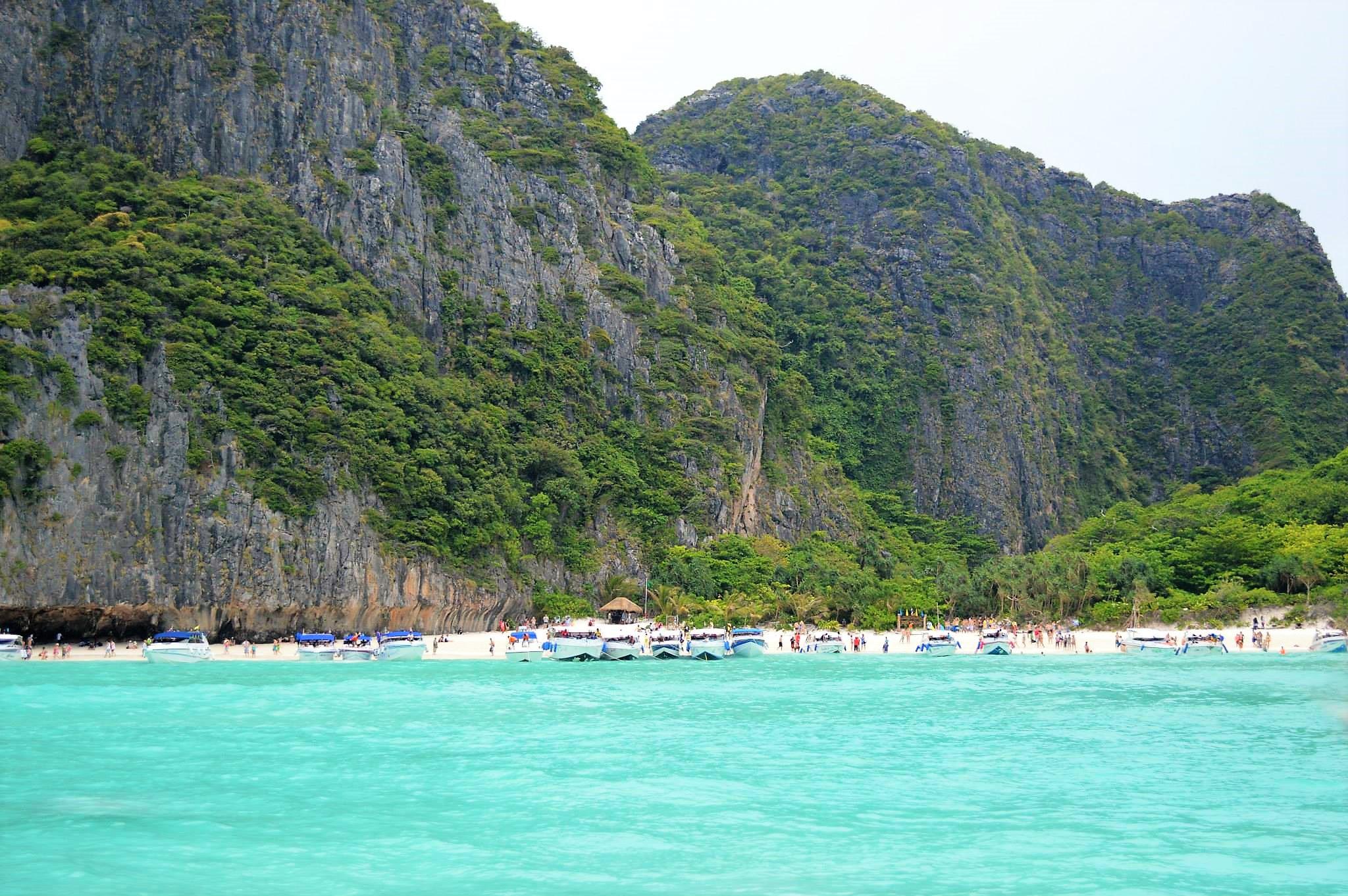 Maya Bay, Ko Phi Phi Don island, Thailand