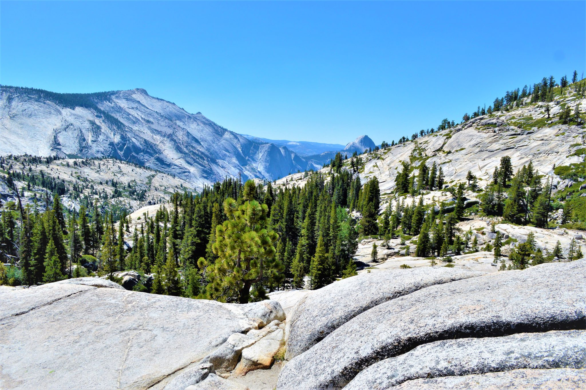 Mountains at Yosemite National Park, California