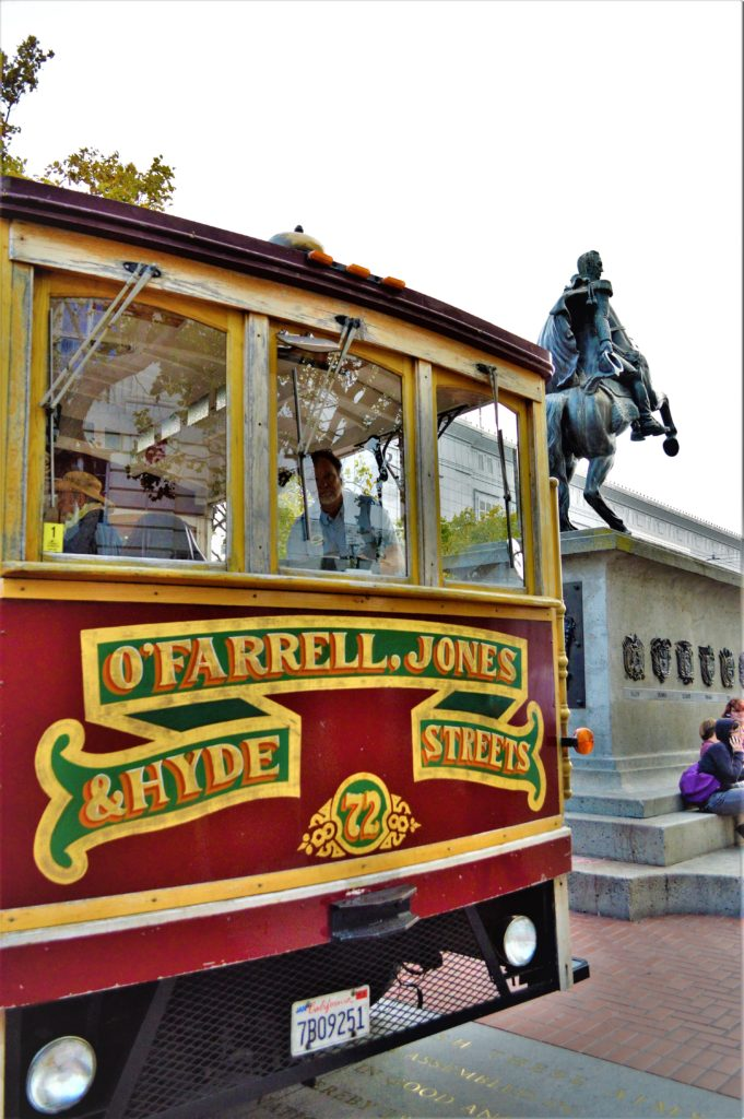 OFarrell Jones tram, San Francisco, USA