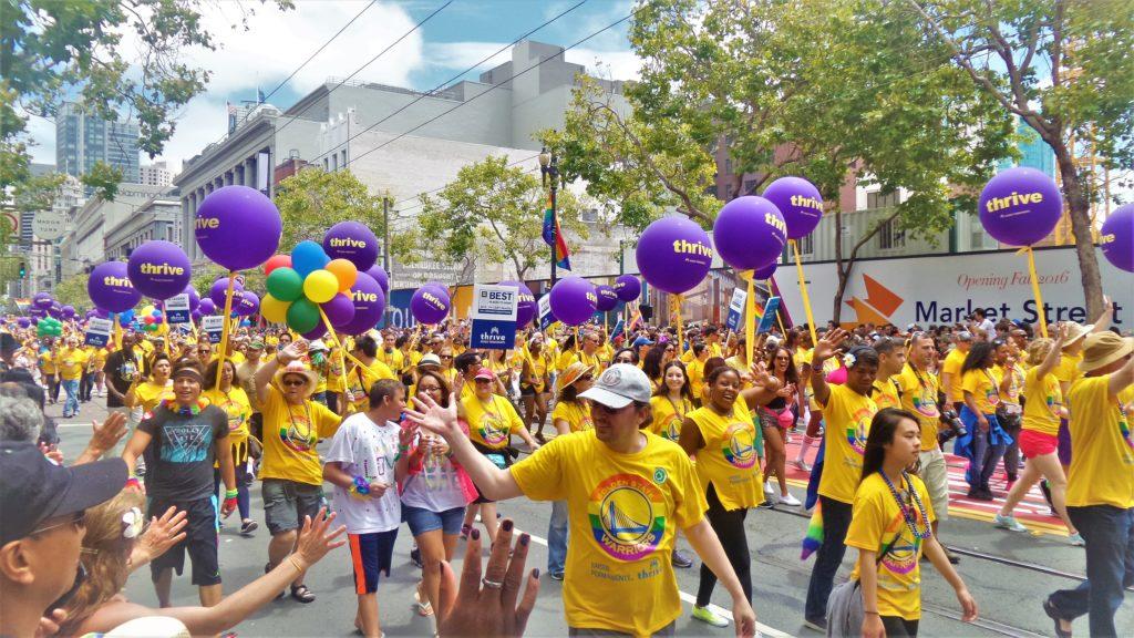 Parade, San francisco Gay Pride, USA