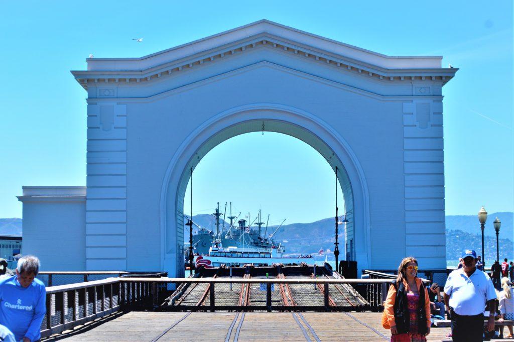 Pier 39 arch, San Francisco, California