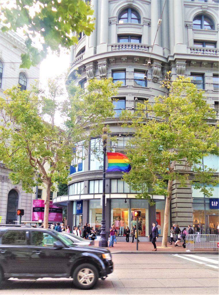 Pride Flag San Francisco, California