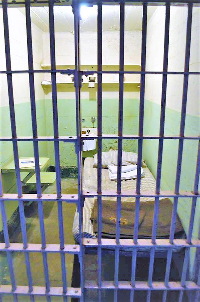 Prison Cell, Alcatraz island, San Francisco, California