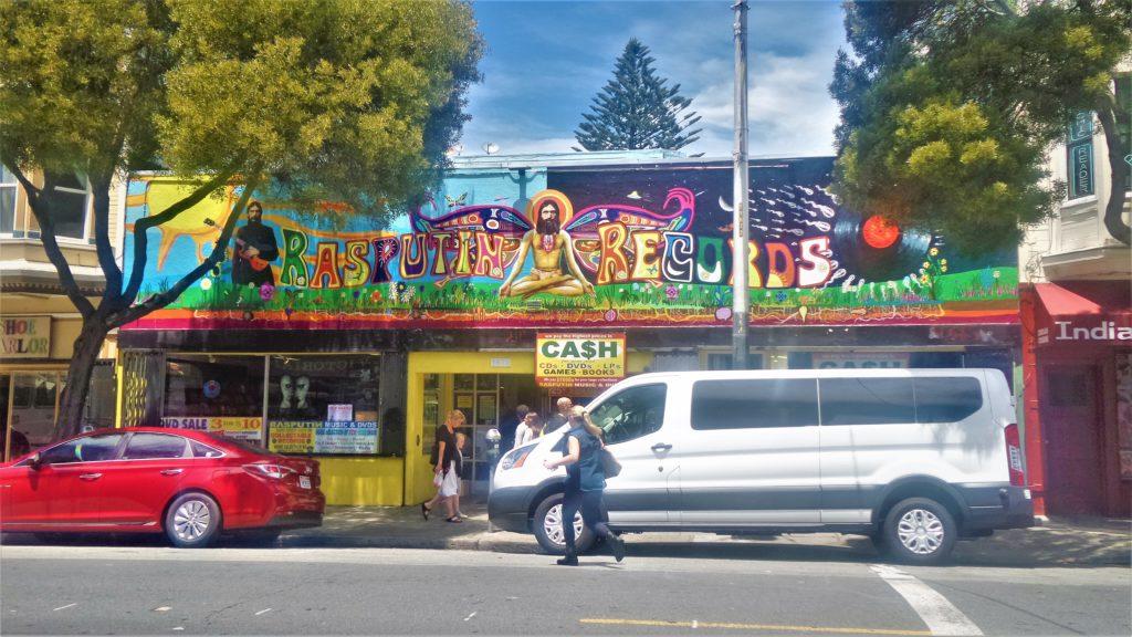 Rasputin Records, Ashbury Heights, San Francisco, USA