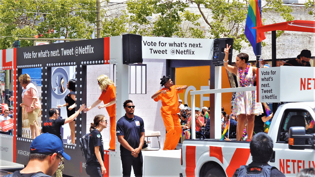 San Francisco gay pride parade, California