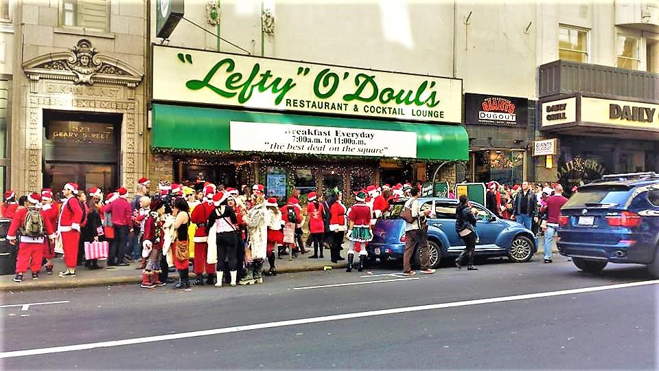 Santa Con, San Francisco, California