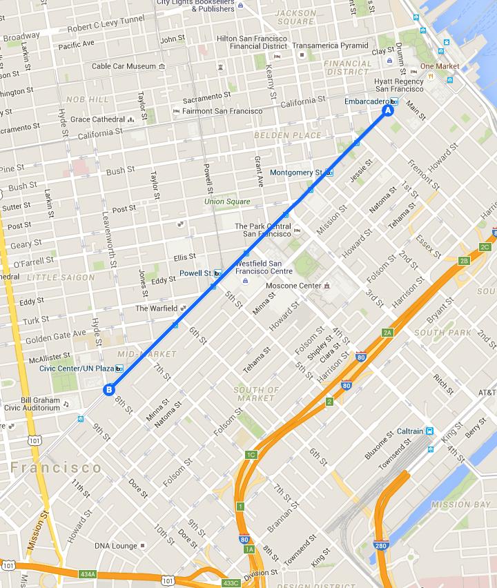 San Francisco Gay Pride Parade Route, California