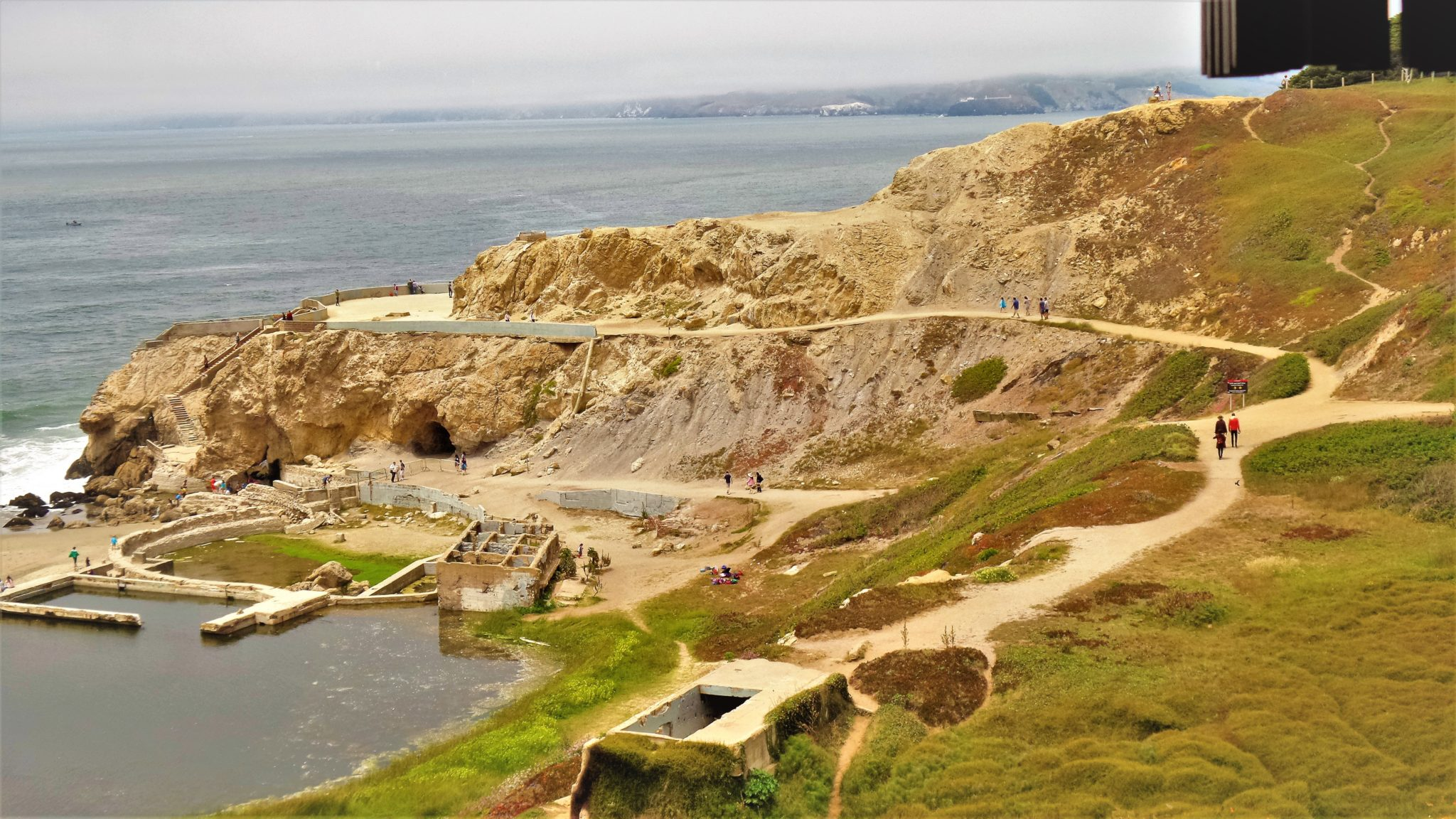 Seal Rock ruins, San Francisco, California