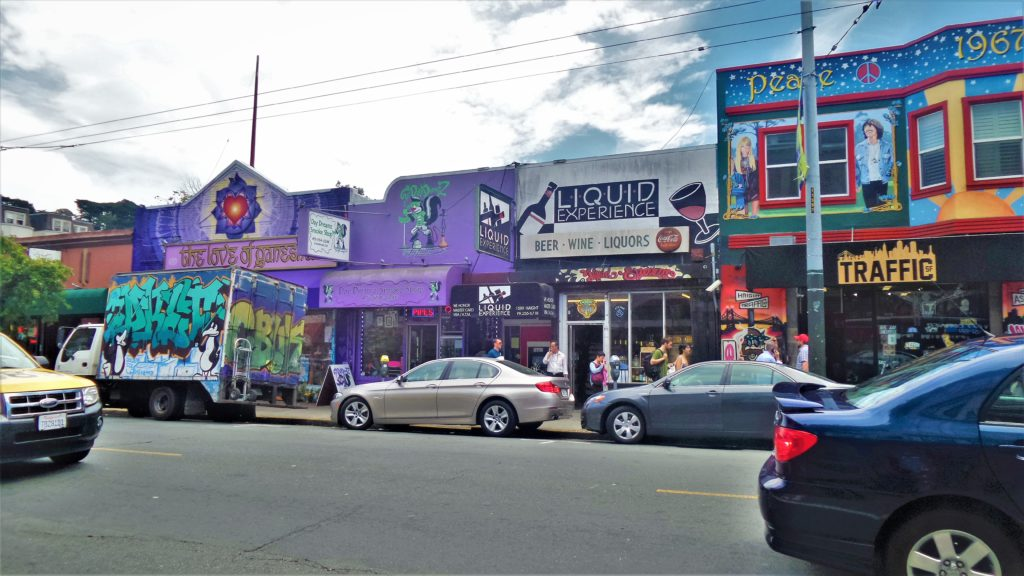 Shops in Ashbury Heights, San Francisco, United States