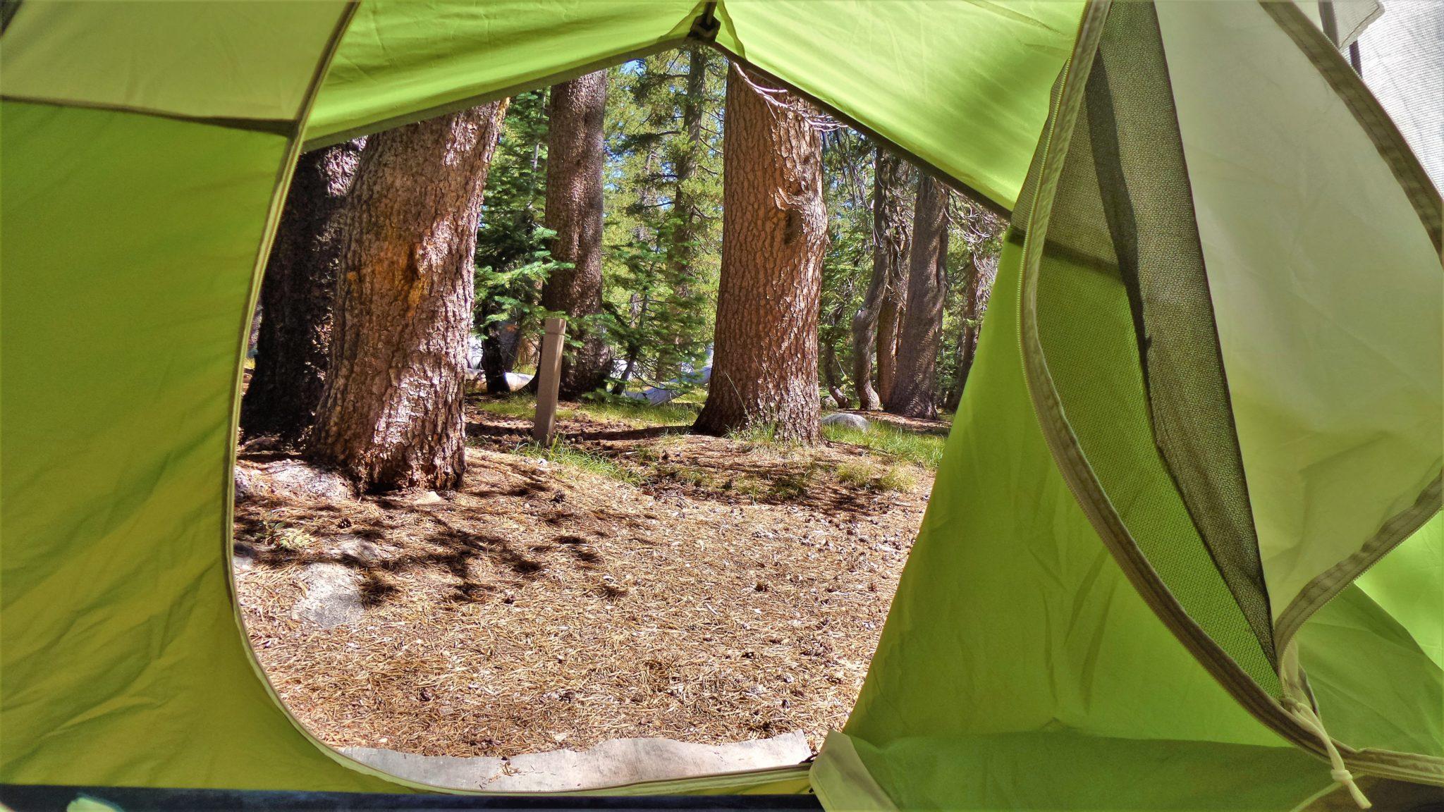 Tent View, Porcupine Flat, Yosemite National Park, California
