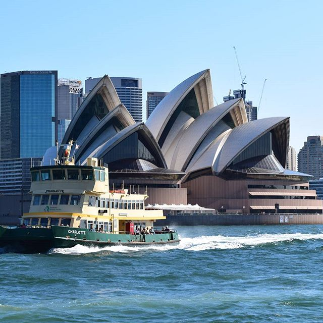 The Sydney Opera House, view from the water - Places to visit in Sydney