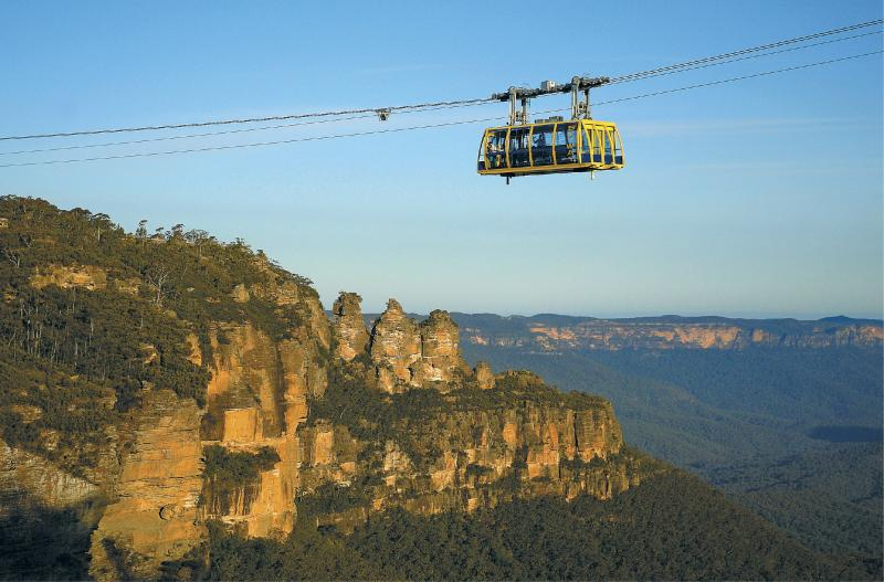 Three Sisters at the Blue Mountains National Park, Sydney, Australia