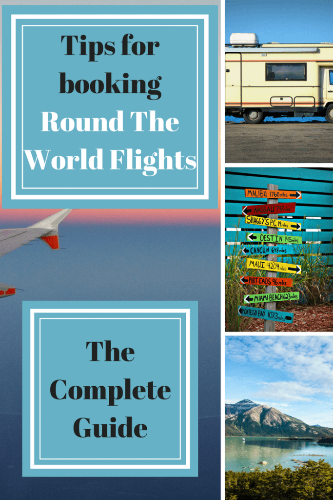 Tips for booking Round The World Flights