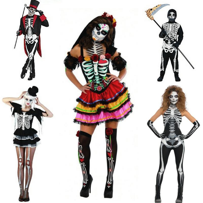 Top Skeleton Halloween costumes