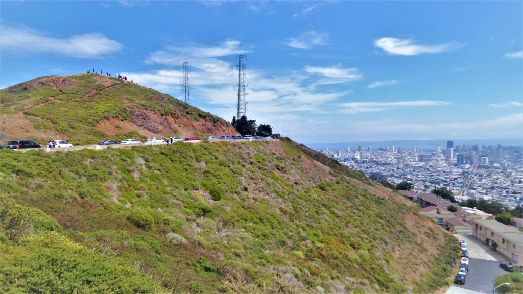 Twin Peaks hill, San Francisco, USA